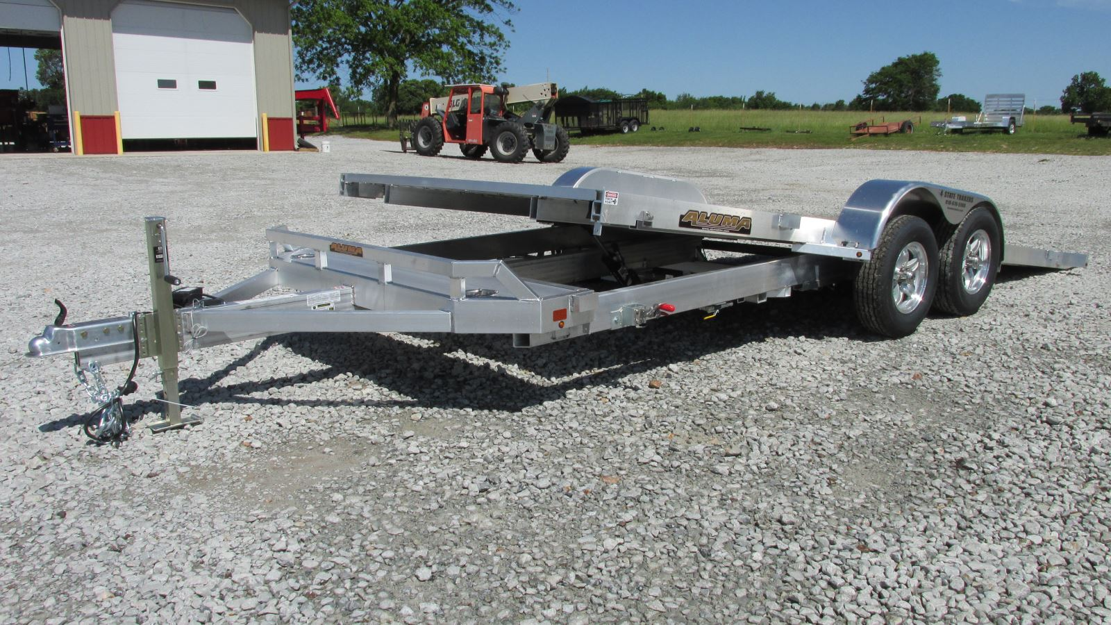 Aluma Trailers For Sale In Oklahoma By 4 State Trailers