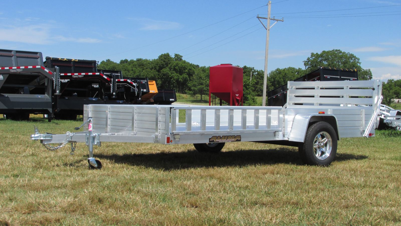 Aluma Motorcycle Trailer Wiring Diagram : Aluma trailers for sale in oklahoma by state